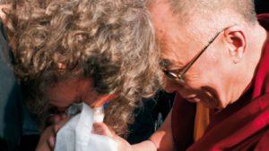 dalajláma a Rudolf Švaříček