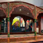 Nepál, nosítka pro bohyni Kumari, Nepál