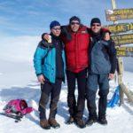 Afrika - vrcholové foto z Kilimandžára