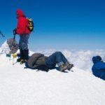 na vrcholu hory Elbrus