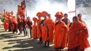 Nepál - slavnost v provincii Dolpo