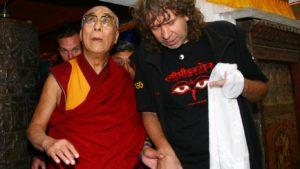 dalajlama na výstavě Sangri-la, 2009