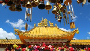 Tibet - buddhistický klášter