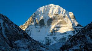 Tibet - pohled na Kailáš