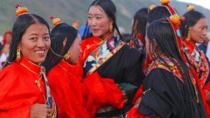 Tibet - sváteční veselí
