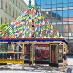 Křest stúpy na Malinovského náměstí