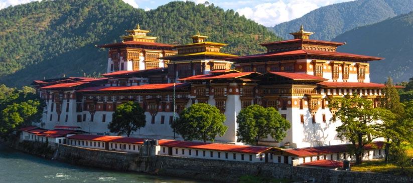 Historické srdce Bhútánu